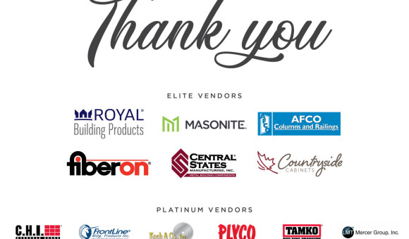 Thank you to our 2019 Elite and Platinum vendors!