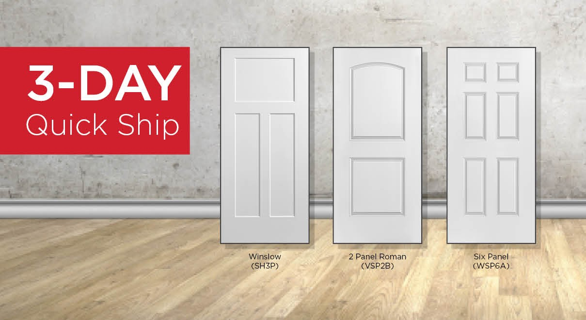 3-Day Quick Ship Interior Doors & Millwork