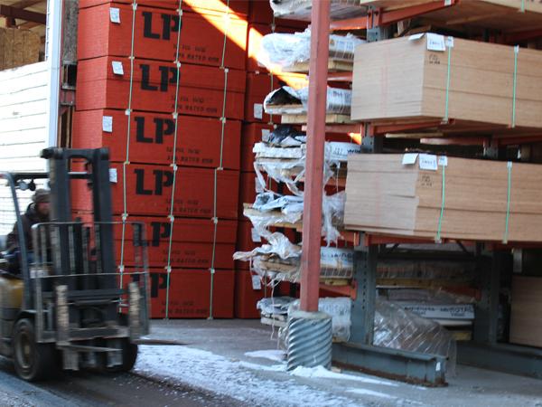 Wood Lumber Badger Corrugating