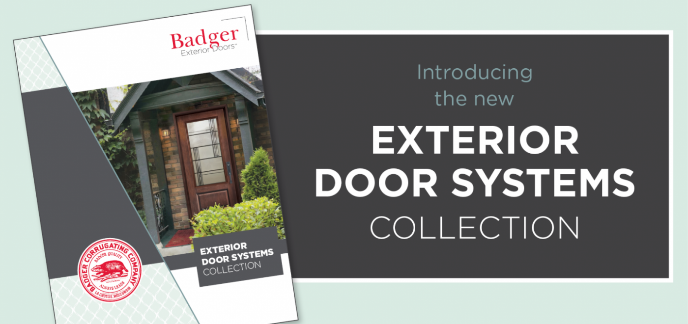 New Exterior Door Systems Collection Catalog