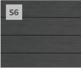 Single 6-Inch shown in Charcoal Gray