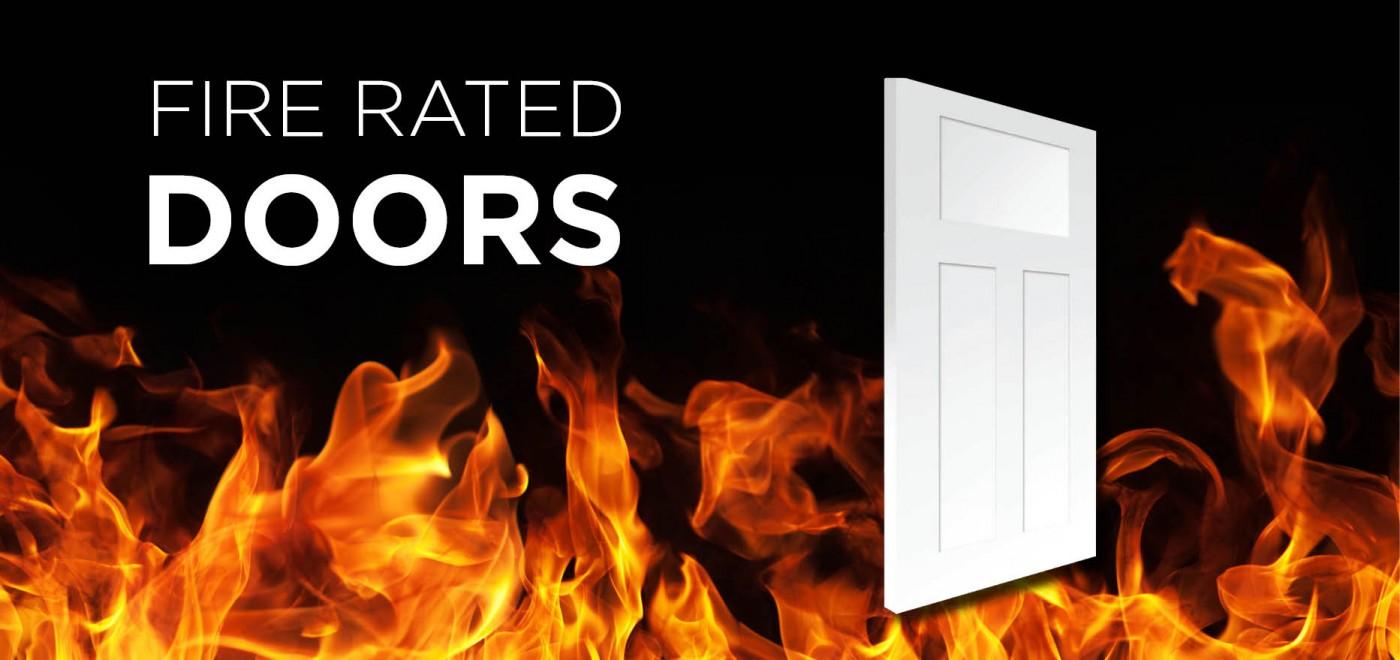 20 Minute Fire Rated Door : New minute fire rate fiberglass door badger