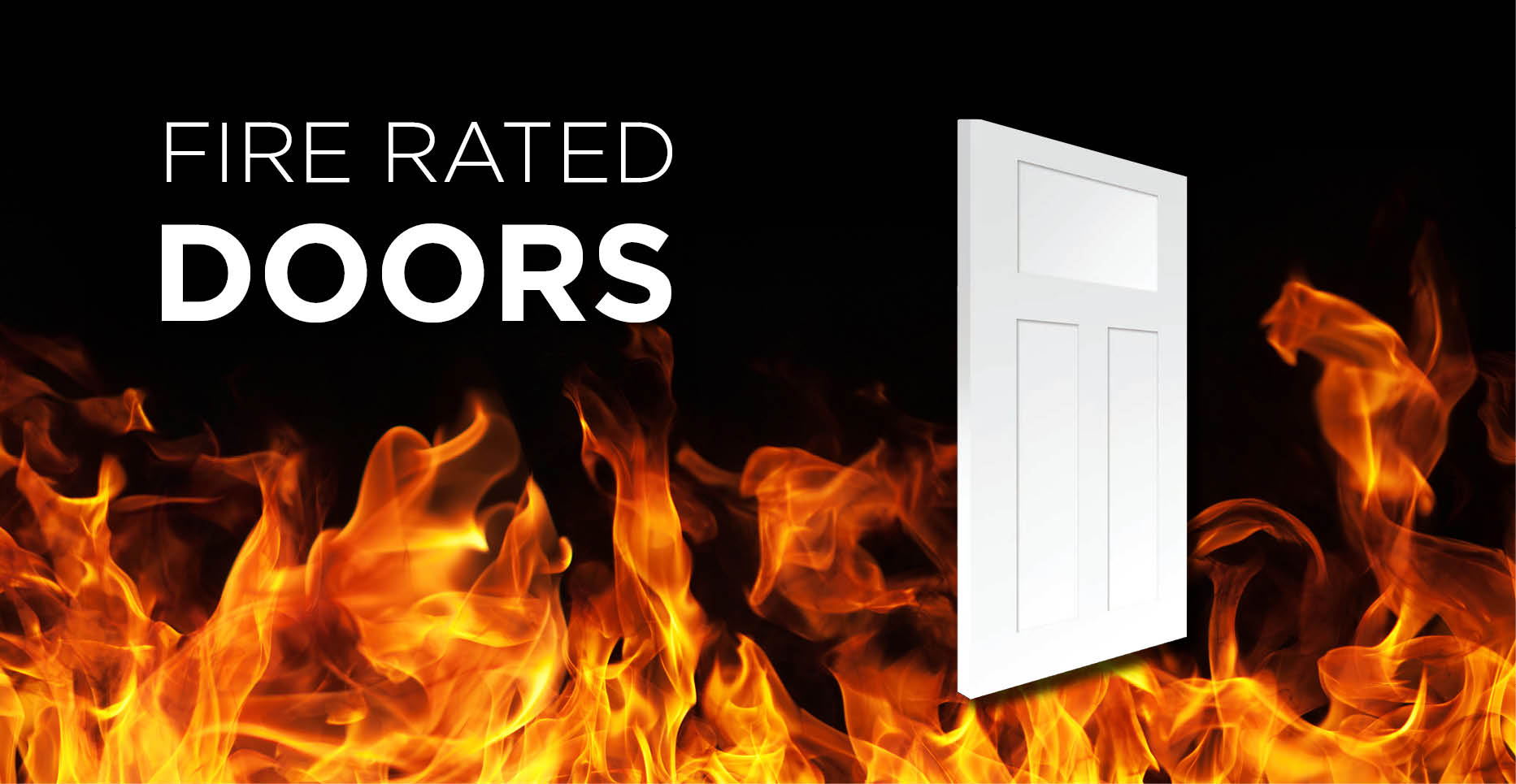 New 20 Minute Fire Rate Fiberglass Door Badger