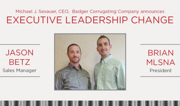 Executive Leadership Change