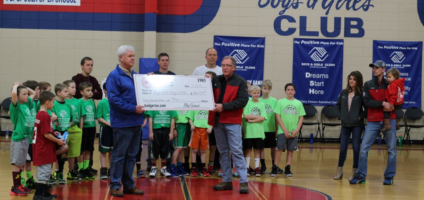 Badger Corrugating donates to Boys & Girls Club