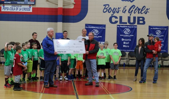 Badger Corrugating donates to Boys & Girls Club
