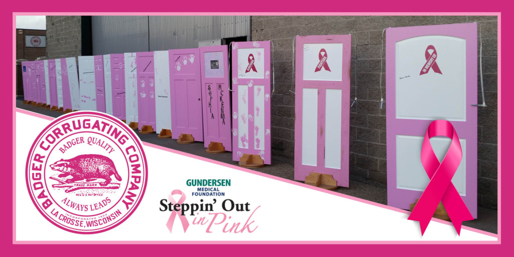 Badger Corrugating Company is proud to support Gundersen Medical Foundation Steppin\u0027 out in Pink a local fundraising walk supporting breast cancer ... & Badger Corrugating is proud to support Steppin\u0027 Out in Pink ... Pezcame.Com