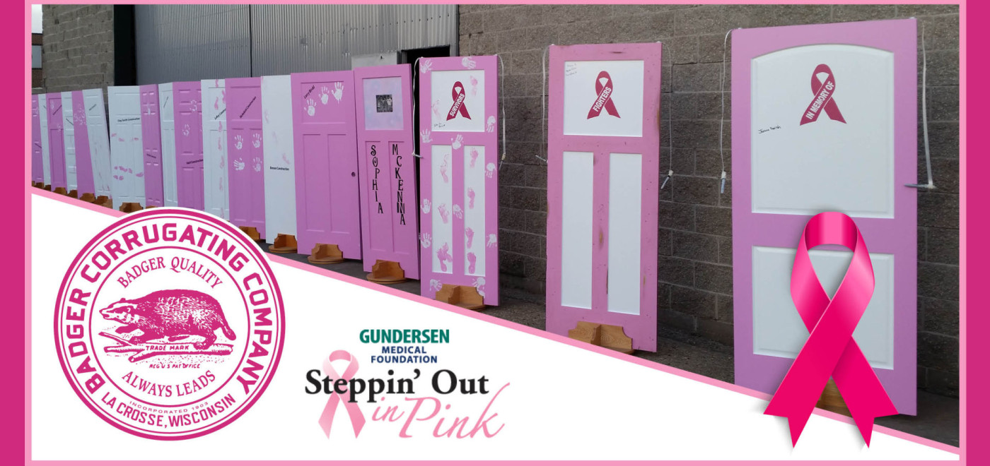 $3,850 Raised for Steppin' Out in Pink
