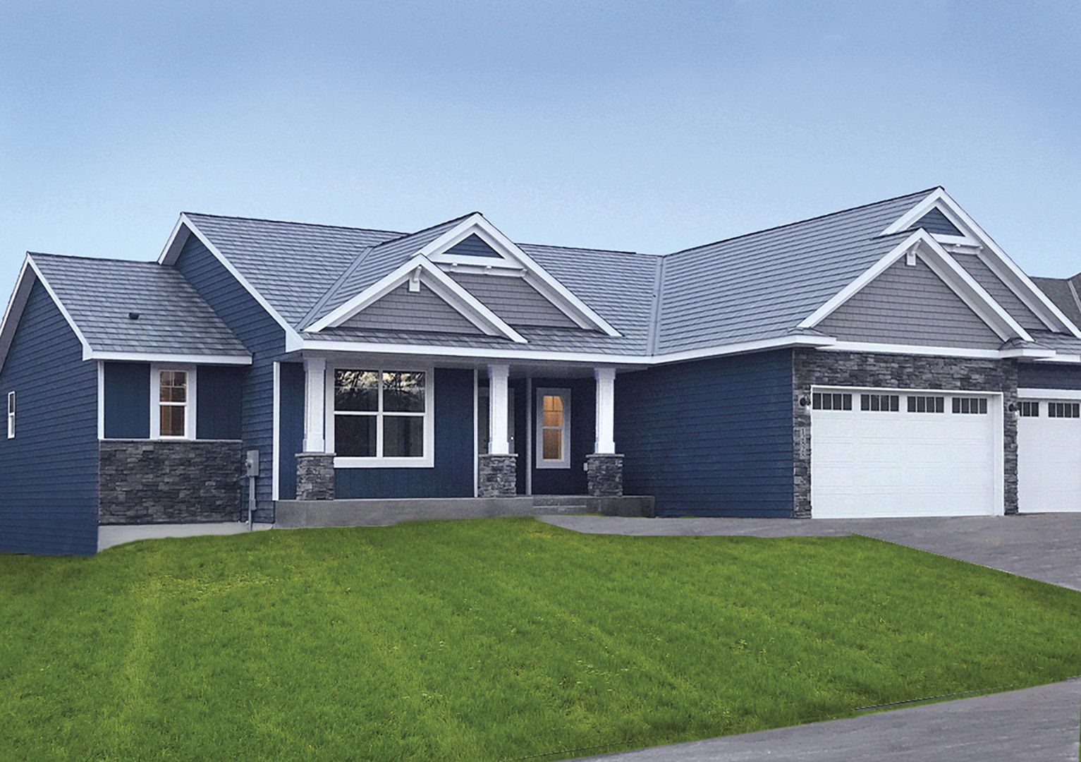 New edco prism siding collection for New siding colors