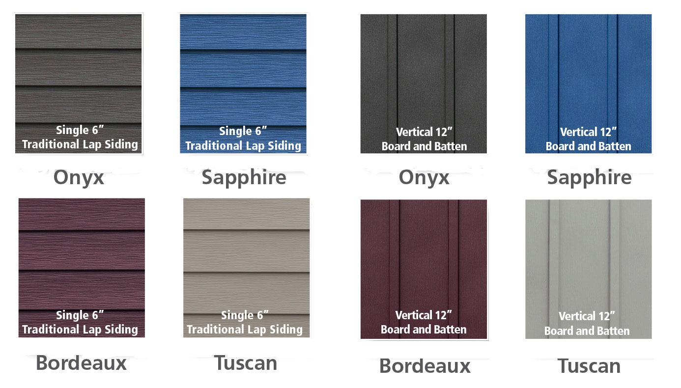 New Edco Prism Siding Collection