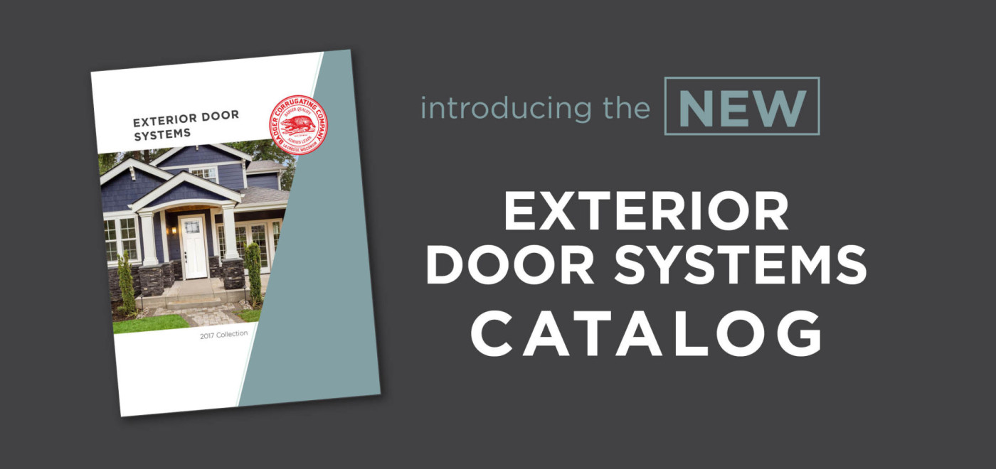 Introducing the NEW Exterior Door Systems Catalog
