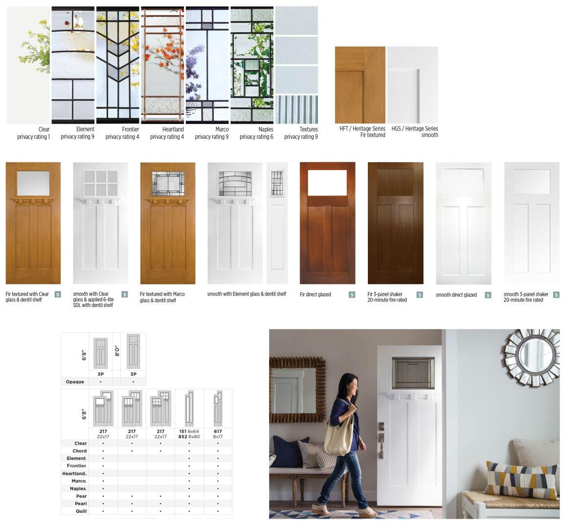 Craftsman Exterior Doors