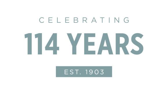 Celebrating 114 years!