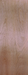 Lauan wood veneer flush