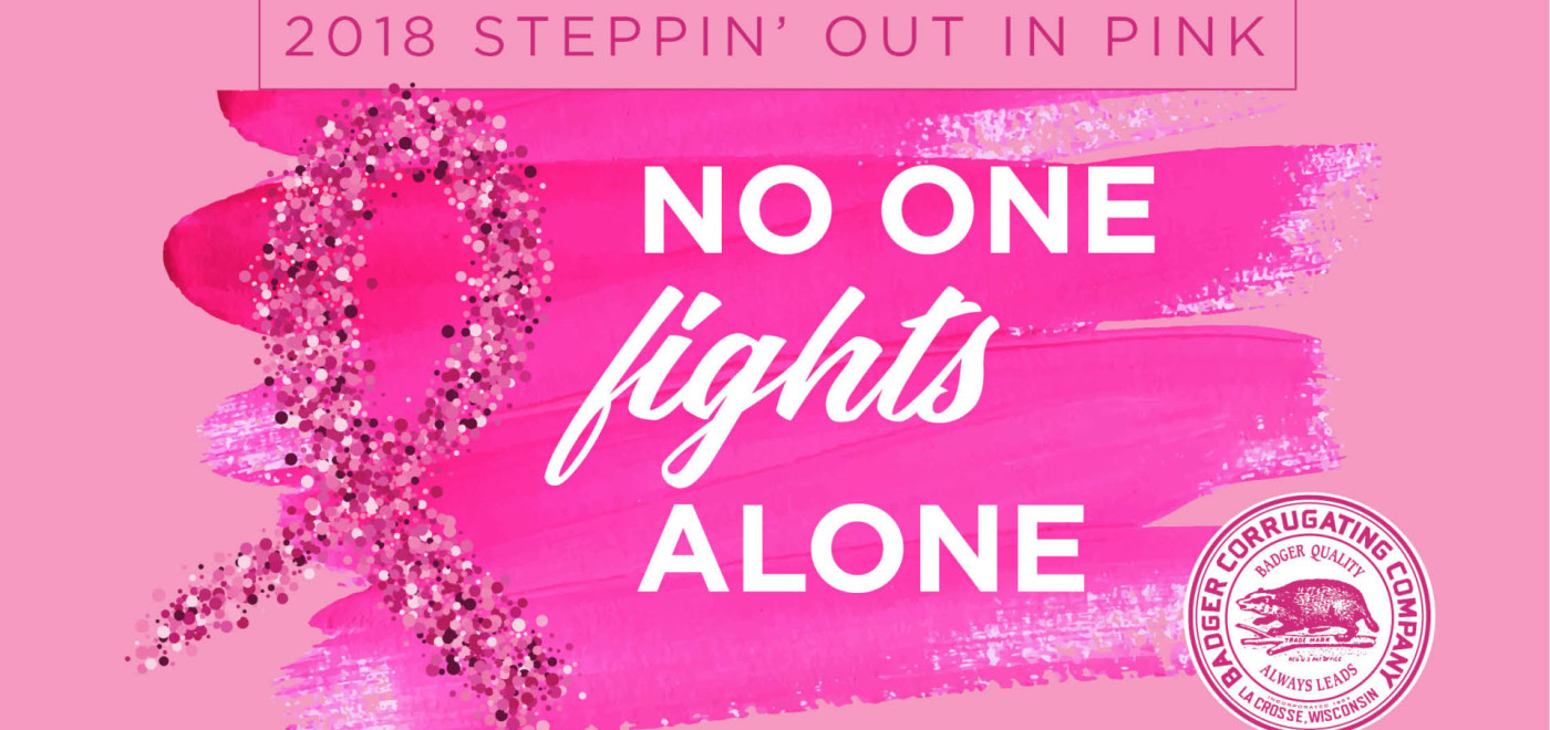 $5,000 raised for for Steppin' Out in Pink