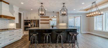 Cabinets, Countertops & Flooring