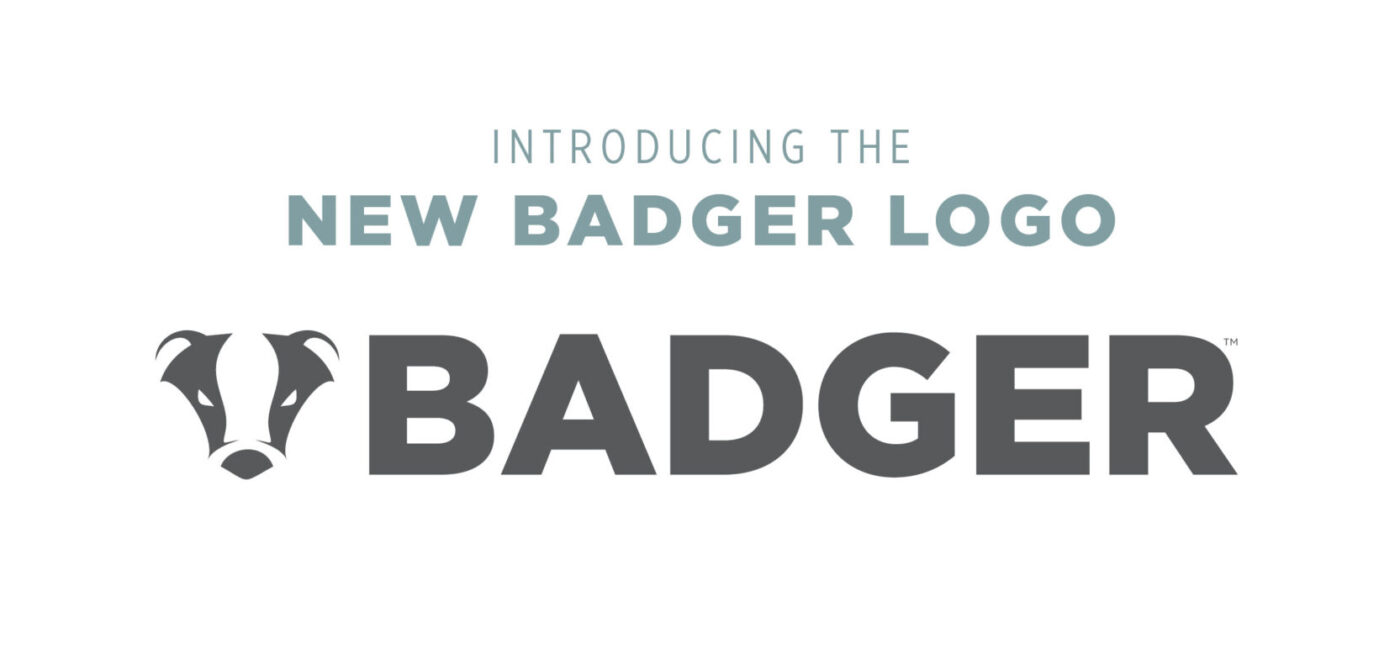 introducing the NEW Badger logo!